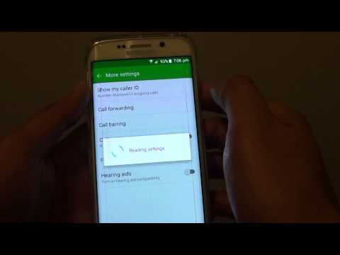 Samsung Galaxy S6 Edge: How to Enable / Disable Caller ID