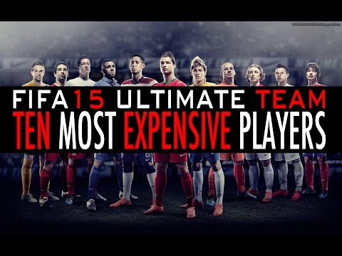 Top 10 Most Expensive FIFA 15 Ultimate Team Players PS4   XBOXONE   PS3   XBOX360
