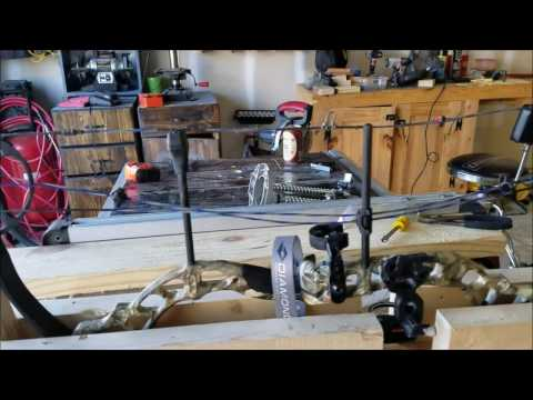 Homemade Bow Press