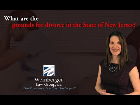 FAQ: What are the grounds for divorce in the State of New Jersey?