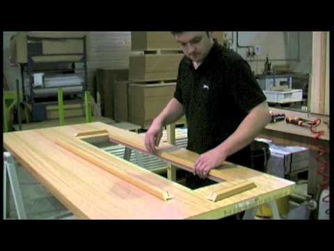 How to Glaze a FD30 Fire Door using our Quickfix Glazing Bead