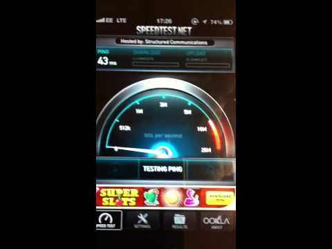 Iphone5 4G EE Network - London
