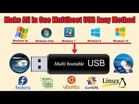 How To Create Multiboot USB With yumi | multiboot USB Creator
