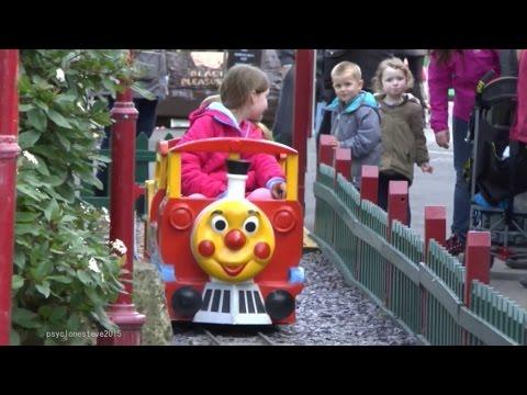 Kiddie Train Ride, Pleasure Beach Blackpool 2015