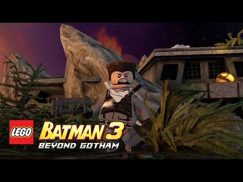 LEGO Batman 3: Beyond Gotham - Slade Wilson Okaara free roam