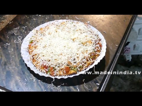 Make Veg Pizza in Microwave Convection Oven Recipe | Popular Street Recipes | FOOD & TRAVEL TV