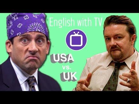 British vs American English with