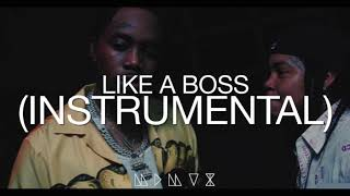Fivio Foreign, Young M.A - Like a Boss (Instrumental)
