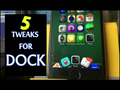 5 Tweaks For Your iphone  Dock Only || Jailbreak 10 -10.2 ||