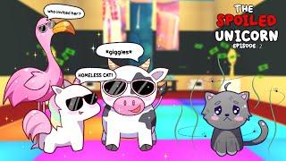 "The Spoiled Unicorn Ep.2   ""DANCE PARTY""   Adopt Me Pet POV"