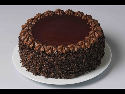 How To Decorate Chocolate Cake? | Easy Cake Decoration | Atul Kochhar