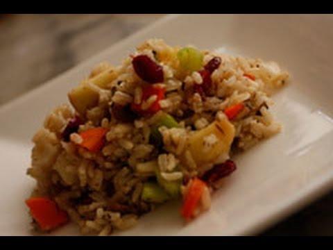 Vegetarian Stuffing Recipe - Vegan/Vegetarian Christmas Recipes On Video