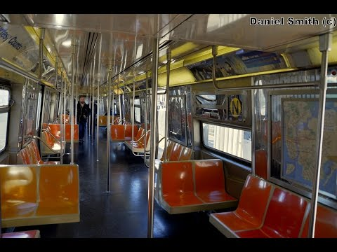 Westinghouse R68 (N) Train: Coney Island To Astoria-Ditmars Blvd (Full Route)