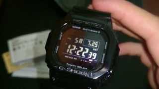G-Shock GW-M5610BB Unboxing