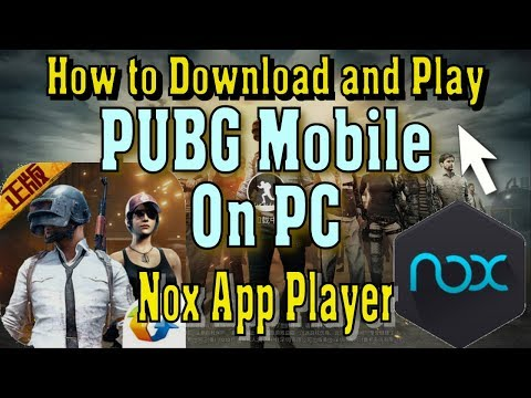 How to Download and Play PUBG Exhilarating Battlefield on PC Nox App Player Controls