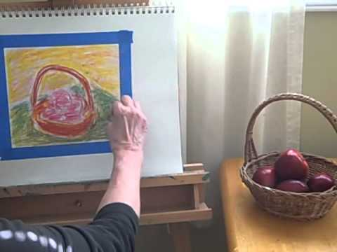 Short and Sweet Art Project Using Oil Pastels.mp4