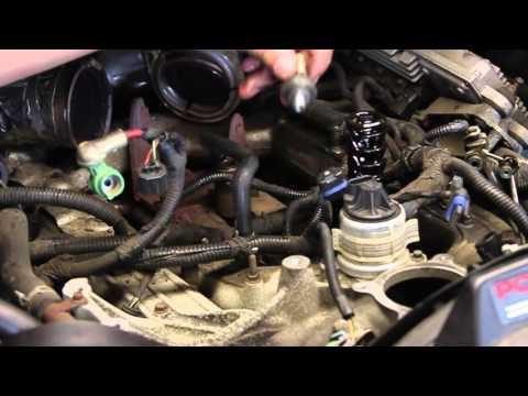 Ford 6.0 Powerstroke Engine Oil Pressure Sensor Replacement