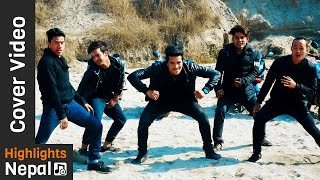Lyang Lyang Cover Video By  Nepali Thitosss  | New Nepali Movie Romeo Song | Contestant No 15