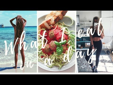 WHAT I EAT IN A DAY #4 for a FIT and HEALTHY body ! (Rest day)