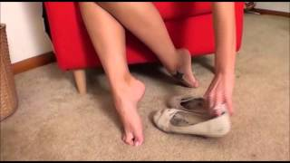 cali in flats shoeplay and toe points