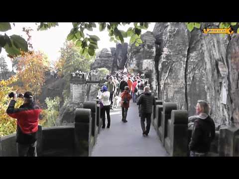 Bastei - Felsenburg Elbsandsteingebirge - sächsische Schweiz - Dresden