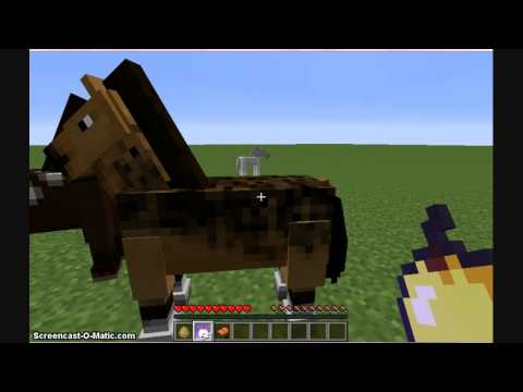 How To Tame Horses In MineCraft THE EASY WAY!