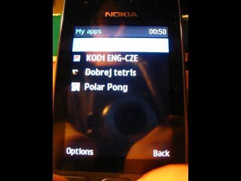Nokia 216 Java applications (360p video)