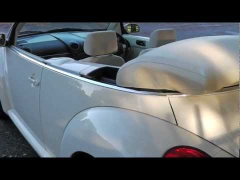 VW Beetle 1 4 Luna cabriolet, 11,000 miles, ipod dock, folding mirrors  Promotors co uk