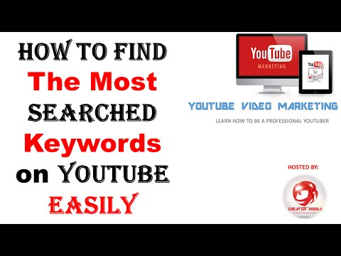 Why & how To Find The Most Searched Keywords on YouTube Easily - Creator World