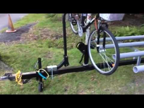 Kayak, boat and bicycle trailer.  Unistrut - 3
