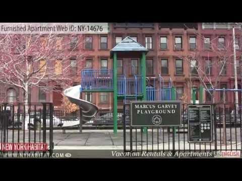Harlem, Manhattan - Video tour of a 2-bedroom furnished apartment in Harlem (Manhattan)