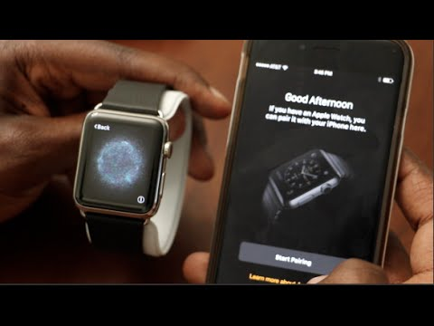 Apple Watch Unboxing 42MM Stainless Steel Classic Buckle Pairing Setup