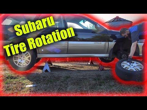 Subaru Tire Rotation