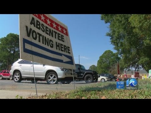 Absentee voting down from 2008, Virginia Beach election officials say