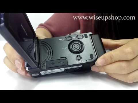WISEUP 1280x720P HD Portable DV Camcorder Video Camera (Model Number: DV-02)