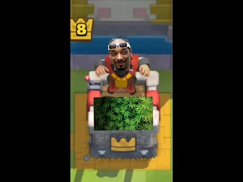 CLASH ROYALE/SUPERCELL SMOKE WEED?!????!? Child game developers brain washing kids to do drugs