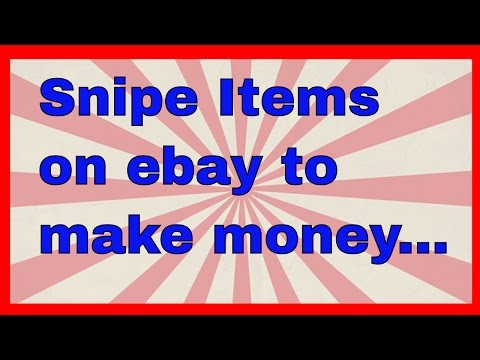 How to snipe items on eBay & sell for profit - Some items I won today eBay sniping