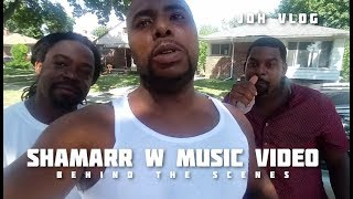 Shamarr W Music Video Behind the Scenes