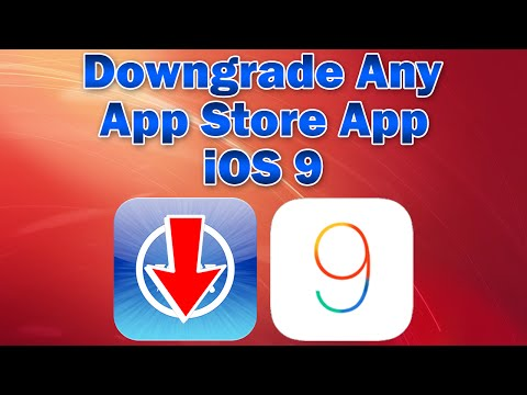 iOS 9: How to Downgrade any App Store App (Without Computer)
