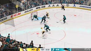 NHL 22 - Pittsburgh Penguins vs San Jose Sharks - Gameplay (PS5 UHD) [4K60FPS]
