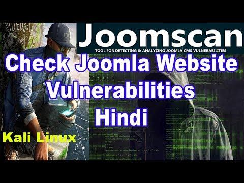 How To Check Joomla Website Vulnerabilities Using Joomscan_Hindi  ✔