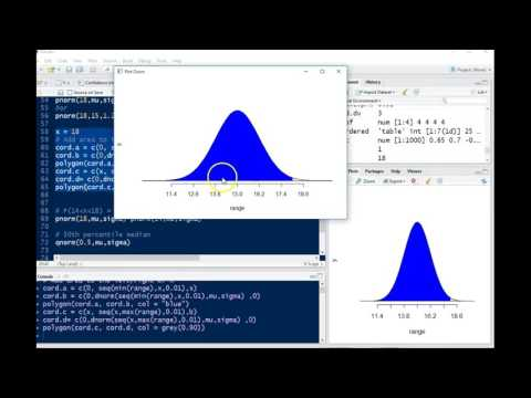 Using R For Normally Distributed Random Variable - Force Example