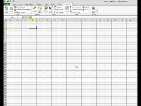 How to open an Excel File Read Only.avi