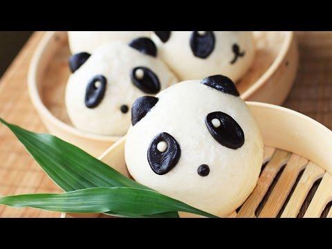 Sweet Panda Mantou Recipe / Sweet buns /甜馒头
