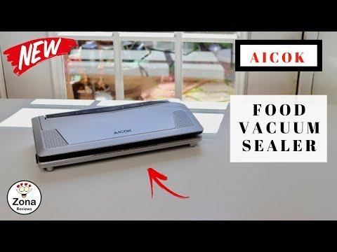 😍  AICOK  ❤️ Food Vacuum Sealer - Review    ✅