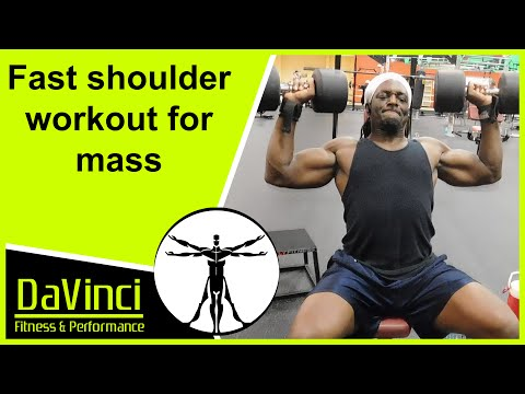 Best Full FST 7 Shoulder and Trap Workout For Mass
