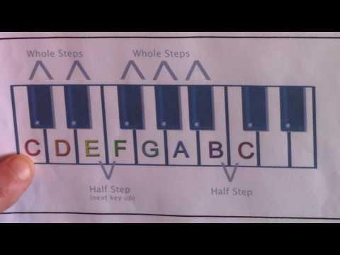 Piano Basics: Scales, Keys & Major Scale Formula (Part 1)