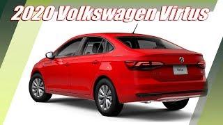 2020 Volkswagen Virtus Compact Sedan Unveiled