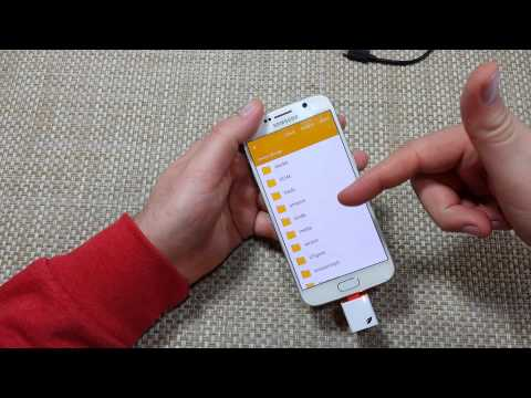 Samsung Galaxy S6 How to copy, move, transfer files, photos, folders to a Sd Card with a Leef Reader
