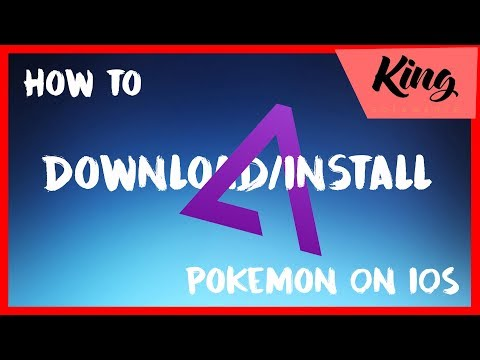 How to download Pokemon on IOS! IOS 7,8,9,10, and 11. No computer required.